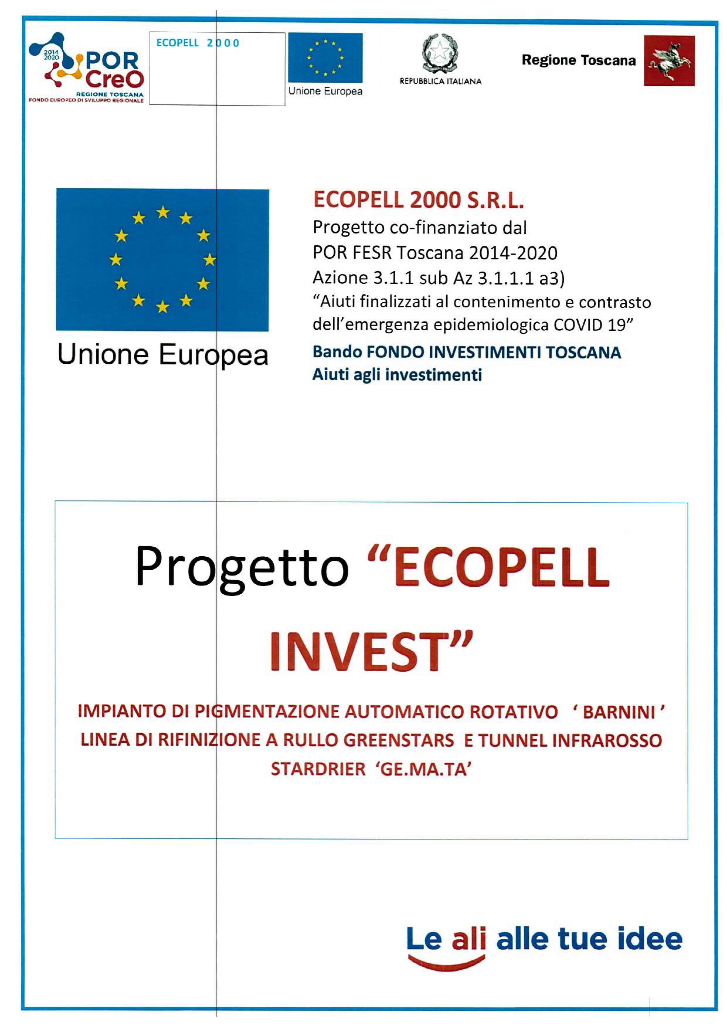 PROGETTO-ECOPELL--INVEST-BANDO-REGIONE-TOSCANA